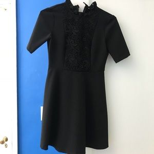 Black Zara Dress with lace